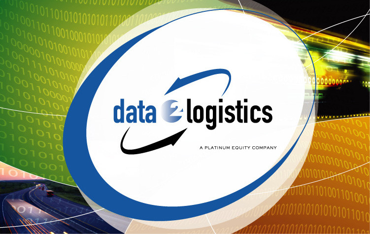 Data 2 Logistics Booth Graphic