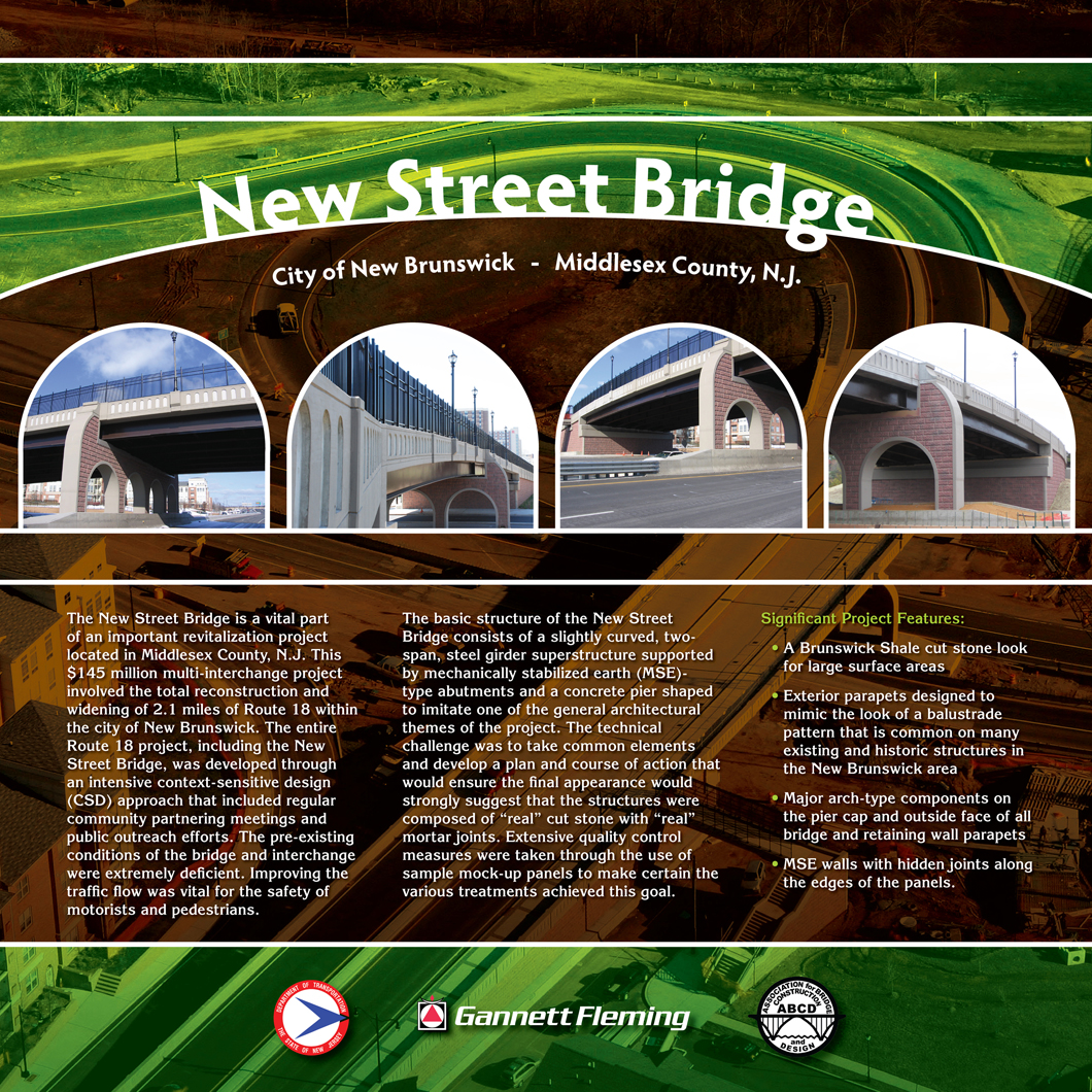 New Street Bridge Poster